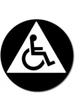 California All Gender Accessible Restroom Door Sign