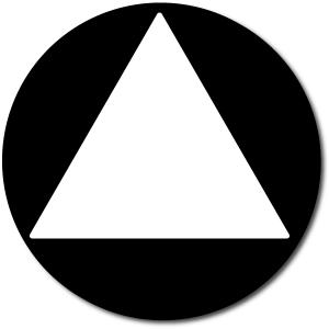 California All Gender Restroom Door Sign