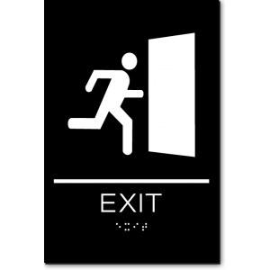 EXIT GRAPHIC Sign