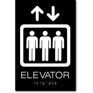 ELEVATOR Sign