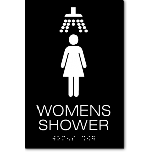 WOMENS SHOWER Sign