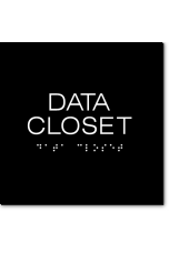 DATA CLOSET Sign