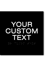 CUSTOM TEXT Sign - 6x6