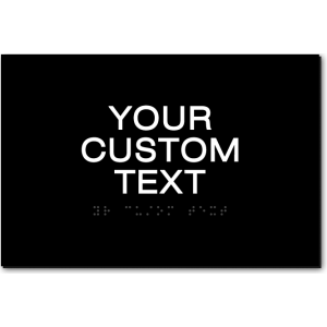 CUSTOM TEXT Sign - 9x6 Inches