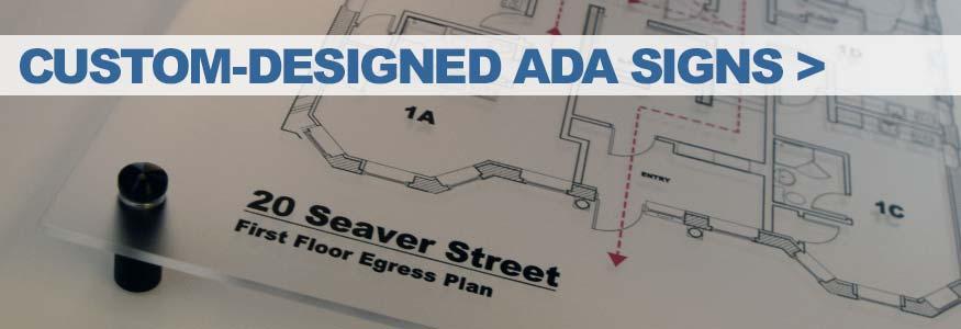 Custom-Designed ADA Signs